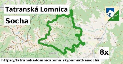socha v Tatranská Lomnica