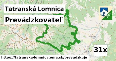 prevádzkovateľ v Tatranská Lomnica