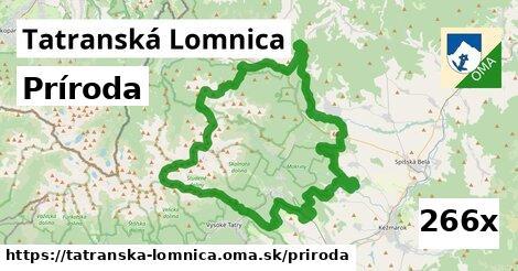 príroda v Tatranská Lomnica