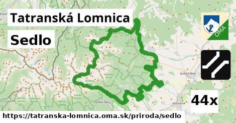 sedlo v Tatranská Lomnica
