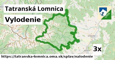 vylodenie v Tatranská Lomnica