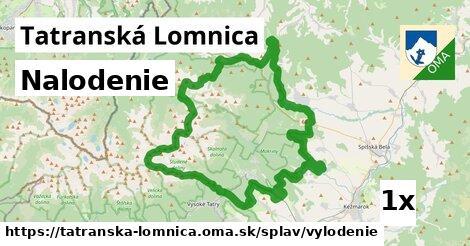 nalodenie v Tatranská Lomnica
