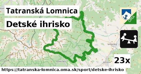 detské ihrisko v Tatranská Lomnica