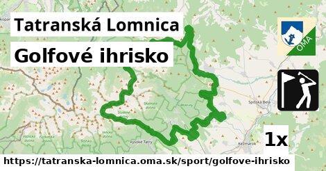 golfové ihrisko v Tatranská Lomnica
