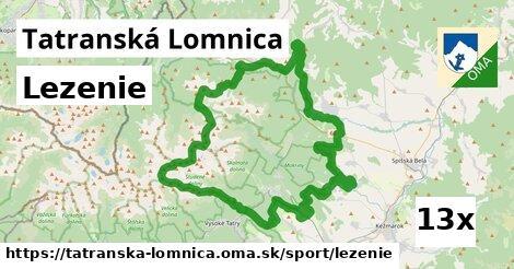 lezenie v Tatranská Lomnica