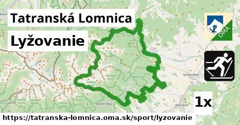 lyžovanie v Tatranská Lomnica