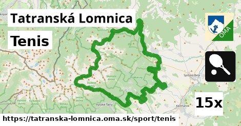 tenis v Tatranská Lomnica