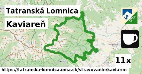 kaviareň v Tatranská Lomnica
