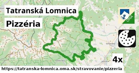 pizzéria v Tatranská Lomnica
