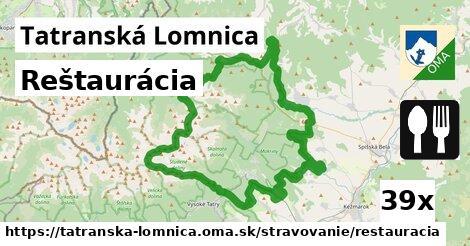 reštaurácia v Tatranská Lomnica