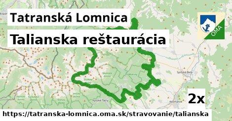 talianska reštaurácia v Tatranská Lomnica