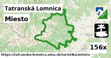 miesto v Tatranská Lomnica