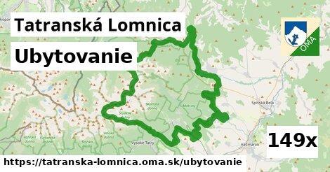 ubytovanie v Tatranská Lomnica