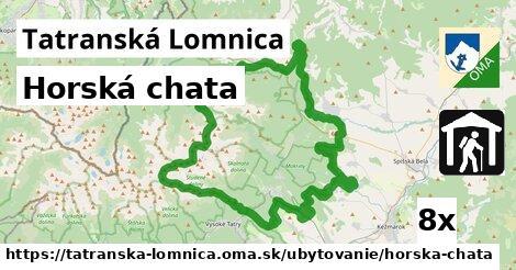 horská chata v Tatranská Lomnica
