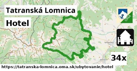hotel v Tatranská Lomnica