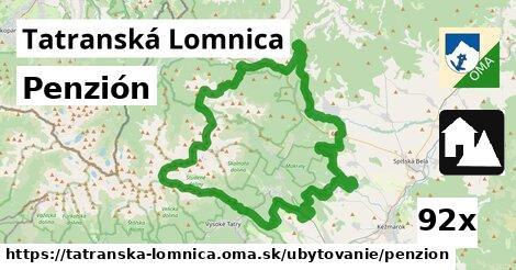 penzión v Tatranská Lomnica
