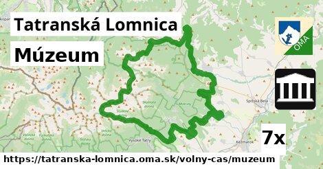 múzeum v Tatranská Lomnica