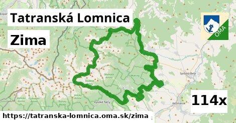 zima v Tatranská Lomnica
