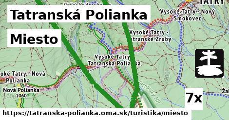 miesto v Tatranská Polianka