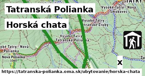 horská chata v Tatranská Polianka