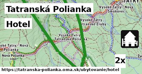 hotel v Tatranská Polianka