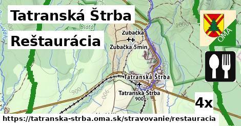 ilustračný obrázok k Reštaurácia, Tatranská Štrba