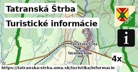 turistické informácie v Tatranská Štrba