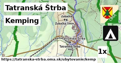 ilustračný obrázok k Kemping, Tatranská Štrba