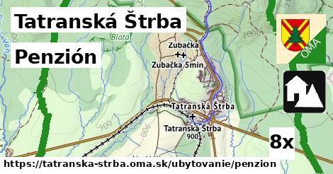 penzión v Tatranská Štrba