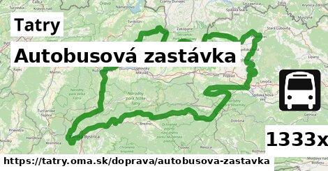 ilustračný obrázok k Autobusová zastávka, Tatry