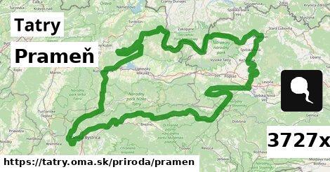 ilustračný obrázok k Prameň, Tatry