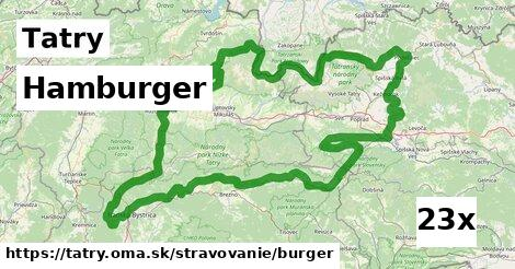 ilustračný obrázok k Hamburger, Tatry