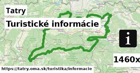 ilustračný obrázok k Turistické informácie, Tatry