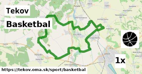 basketbal v Tekov