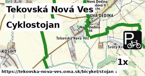cyklostojan v Tekovská Nová Ves