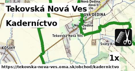kaderníctvo v Tekovská Nová Ves