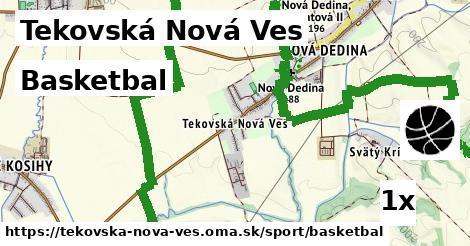 basketbal v Tekovská Nová Ves