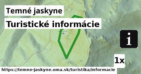 turistické informácie v Temné jaskyne