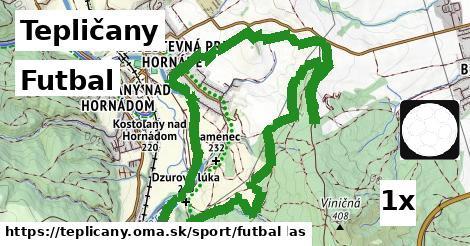 futbal v Tepličany