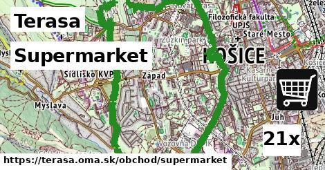 ilustračný obrázok k Supermarket, Terasa