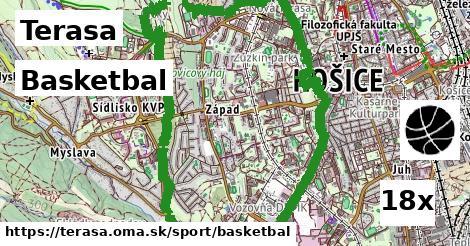 basketbal v Terasa