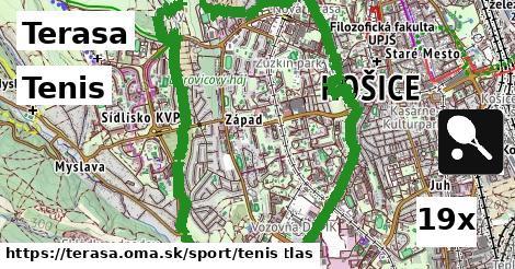 tenis v Terasa