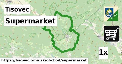 supermarket v Tisovec