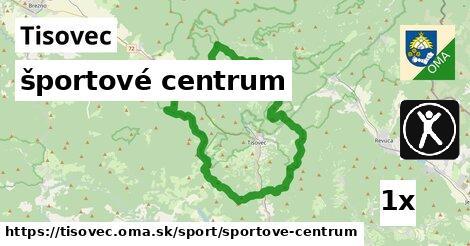 športové centrum v Tisovec