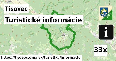 turistické informácie v Tisovec