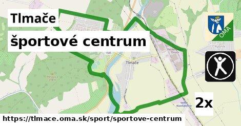 športové centrum v Tlmače