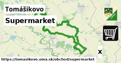 ilustračný obrázok k Supermarket, Tomášikovo