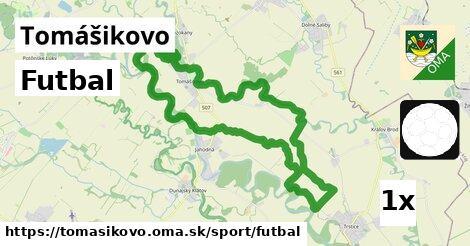 ilustračný obrázok k Futbal, Tomášikovo