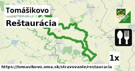 ilustračný obrázok k Reštaurácia, Tomášikovo