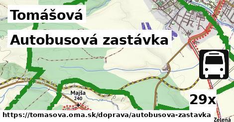 ilustračný obrázok k Autobusová zastávka, Tomášová